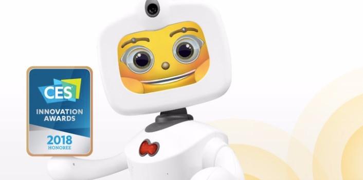 Robelf, un robot inteligente para niños