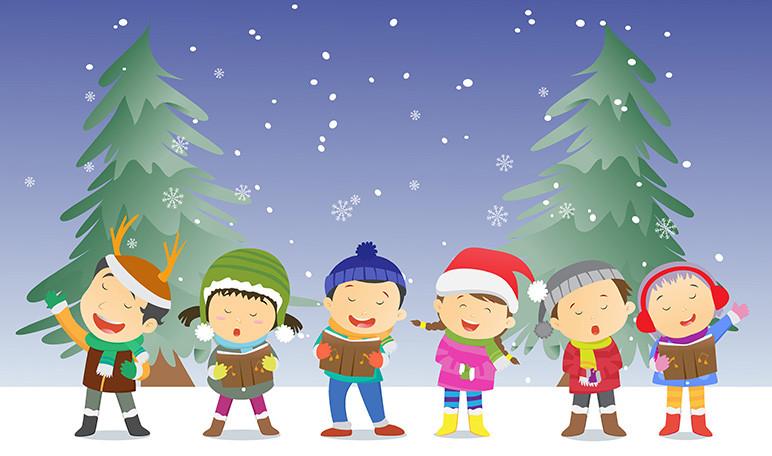 Villancicos Infantiles Para Aprender Ingles En Navidad Wikiduca - Imagenes-infantiles-de-navidad