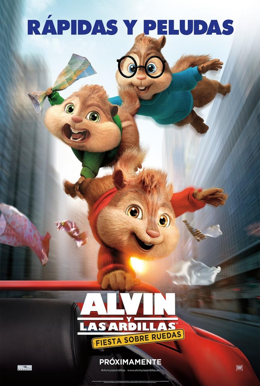 Alvin y las ardillas: fiesta sobre ruedas, una comedia para toda la familia