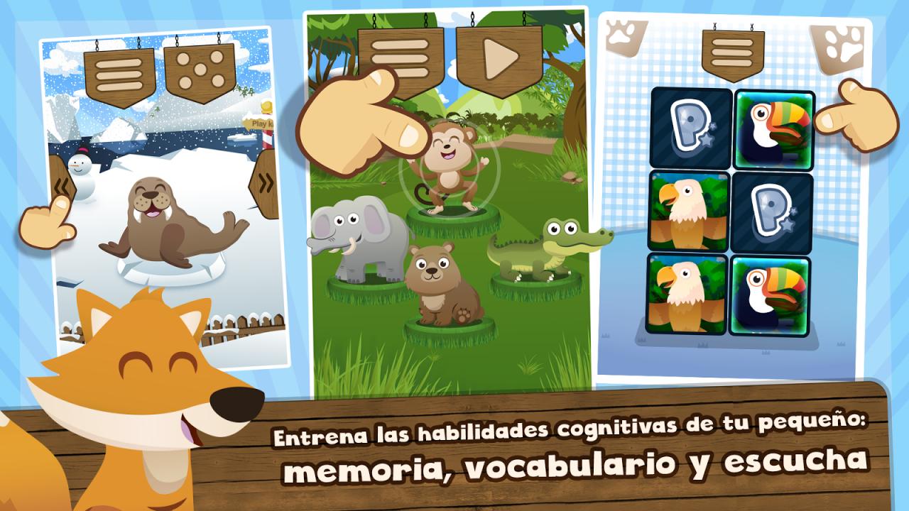Aplicaciones educativas para aprender jugando