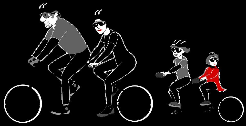 6 beneficios de montar en bicicleta en familia