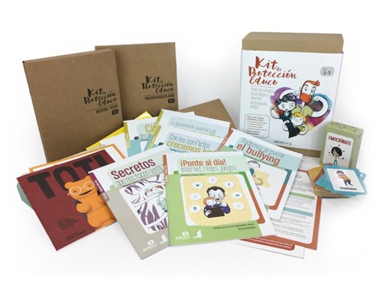 El Kit de Protección Infantil Educo ayuda a los padres a proteger a los niños