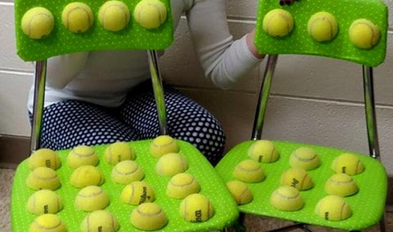 Una maestra inventa unas sillas para niños con autismo - Wikiduca