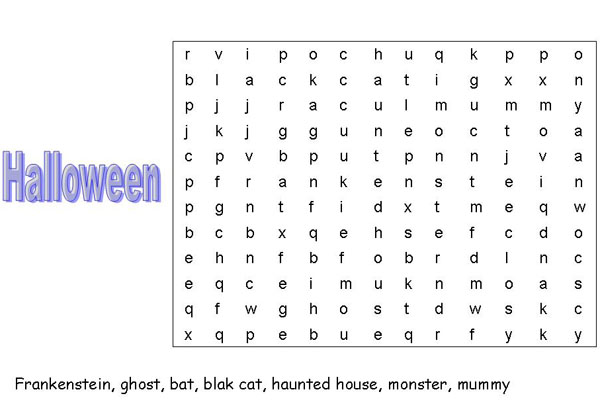 juegos de halloween para aprender ingls