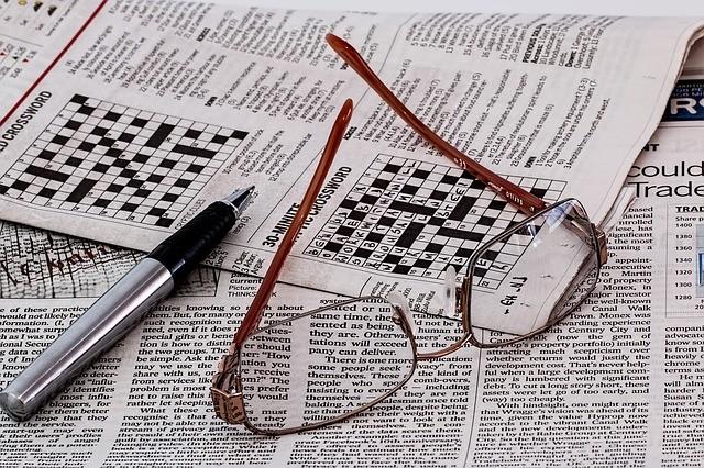 Hacer crucigramas, una actividad muy beneficiosa para el cerebro